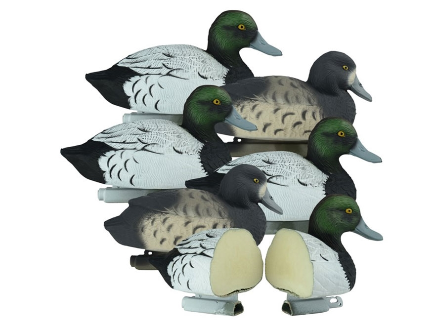 Higdon Standard Foam Filled Bluebill Duck Decoy Polymer Pack of 6