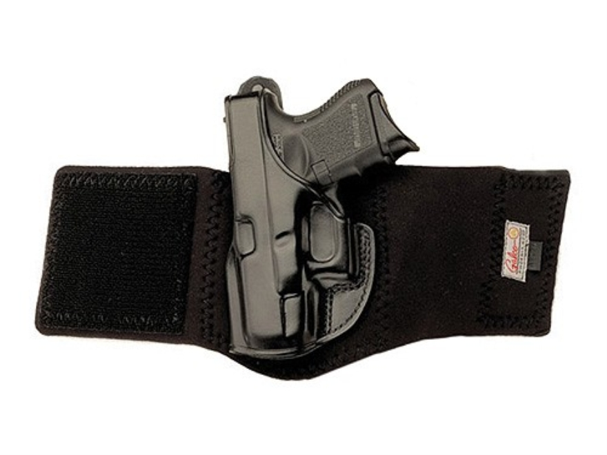 Galco Ankle Glove Holster S&W 442, 649 Bodyguard, 340 PD Leather with Neoprene Leg Band...