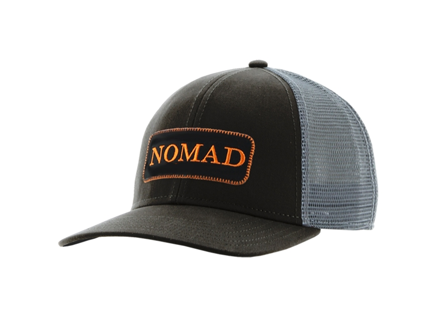 NOMAD Men's Trucker Patch Logo Cap Polyester