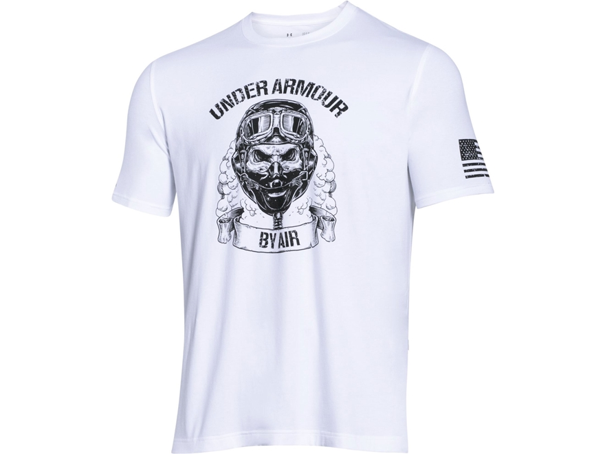 Under Armour Men's UA Freedom by Air T-Shirt Short Sleeve Cotton and Polyester