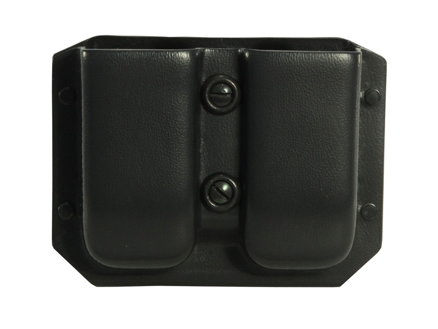 Galco Kydex Double Magazine Pouch 40 S&W, 9mm Double Stack Polymer Magazine Black