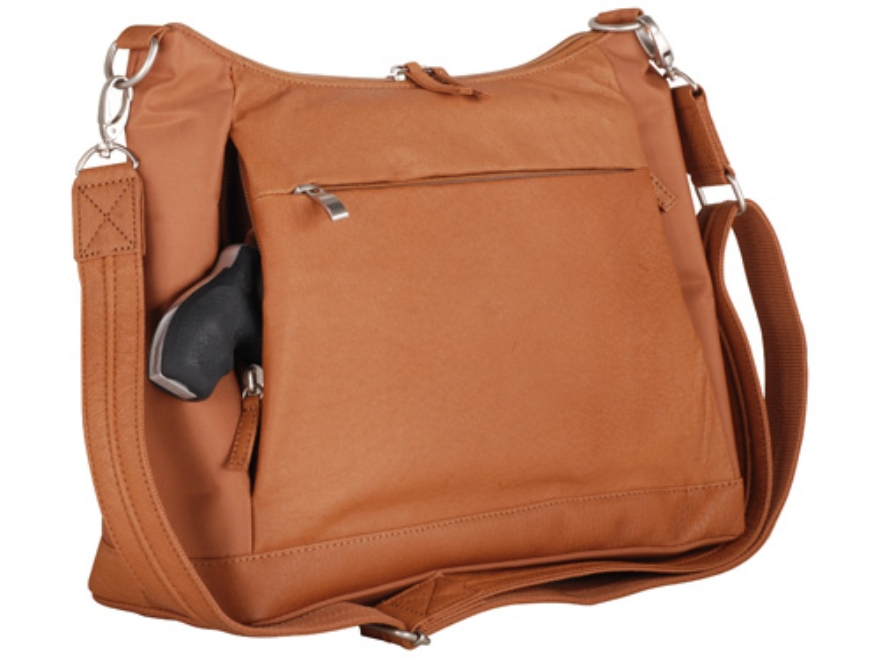 Gun Tote'N Mamas Large Hobo Handbag Leather