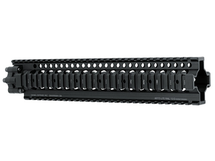 Daniel Defense Lite Rail 12.0 Free Float Tube Handguard Quad Rail AR-15 Rifle Length Al...