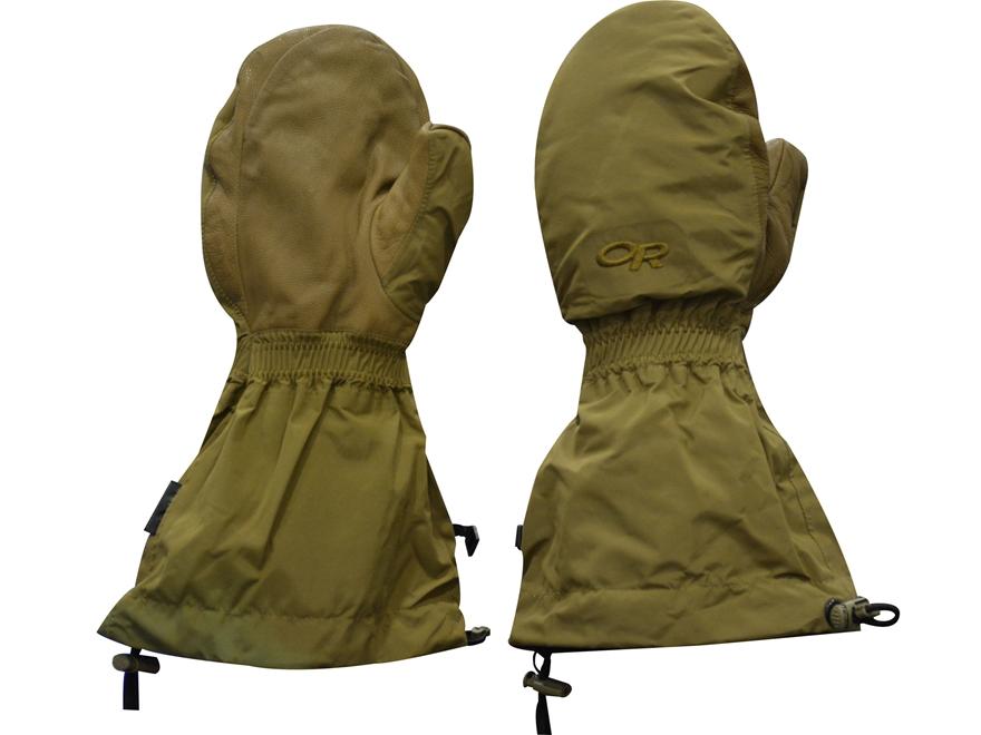 Military Surplus USMC Mitten Shells Tan