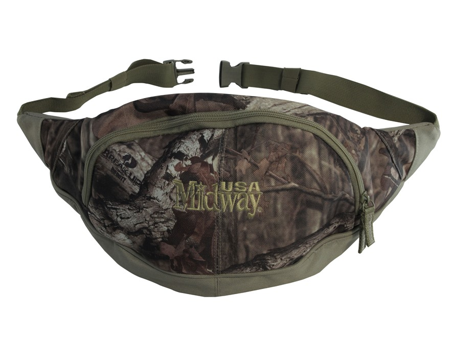 MidwayUSA Fanny Pack Mossy Oak Break-Up Infinity Camo