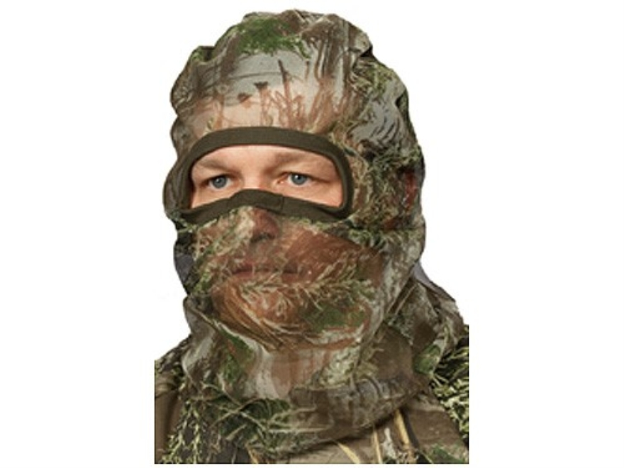Hunter's Specialties Flex Form 2 Mesh Face Mask Polyester Realtree Max-1 Camo