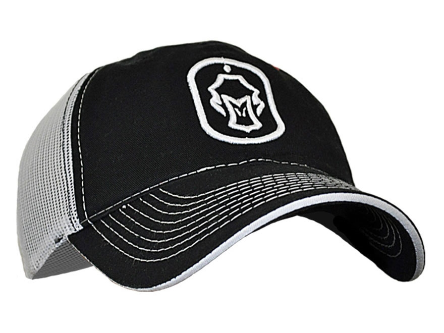 Hard Core Men's Dog Tag Cap Cotton Black