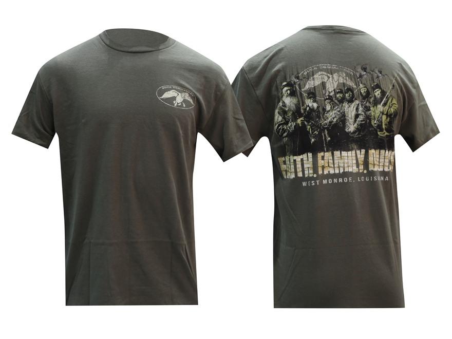 """Duck Commander Men's """"Faith. Family. Ducks"""" Short Sleeve T-Shirt"""