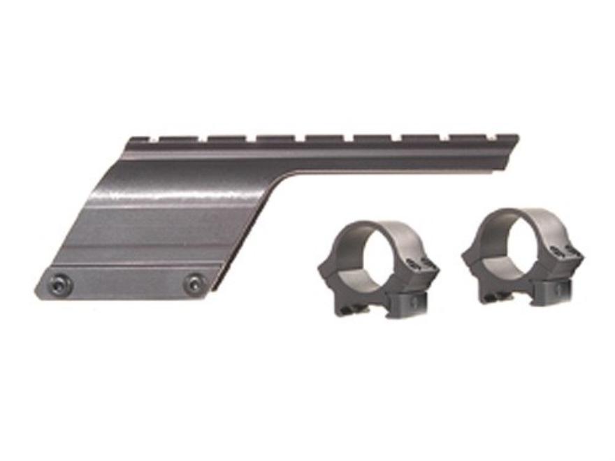 "B-Square Shotgun Saddle Mount with 1"" Rings Remington 870 12 and 20 Gauge (Serial Numbe..."