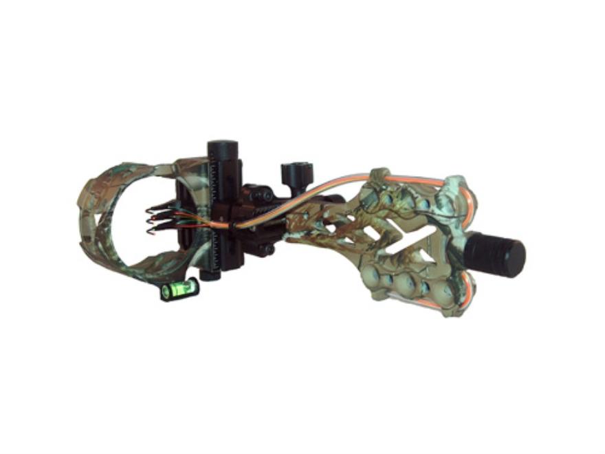 "Archer Xtreme Primal XD 5-Pin Bow Sight .019"" Diameter Pin Aluminum Realtree APG Camo"
