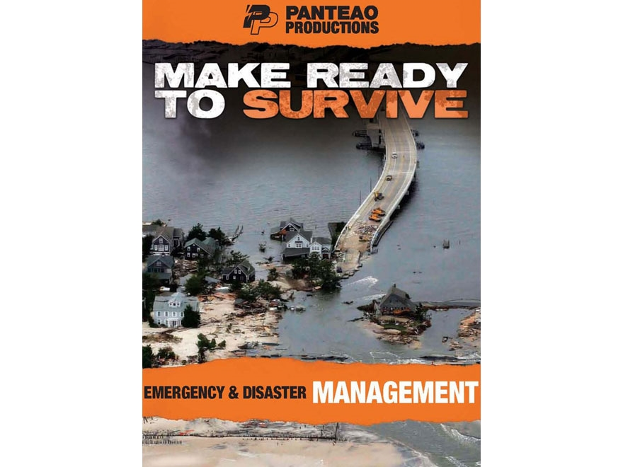 """Panteao """"Make Ready to Survive: Emergency & Disaster Management"""" DVD"""