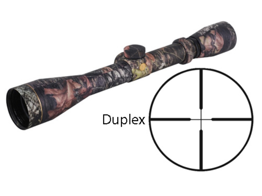 Leupold VX-1 Rifle Scope 3-9x 40mm Duplex Reticle Mossy Oak Break-Up