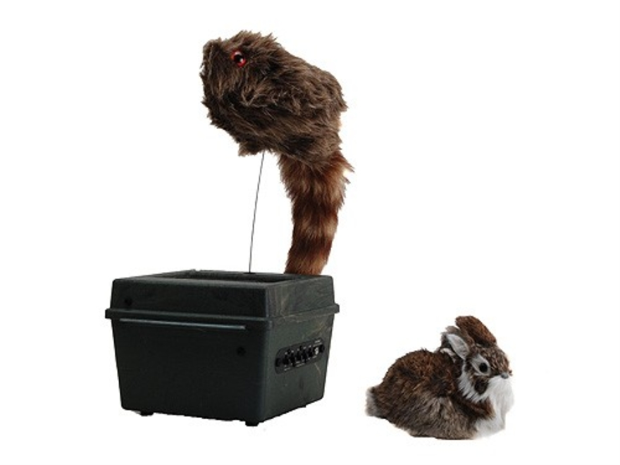 FoxPro Jack-in-the-Box 2 Speed Motion Decoy with Built-In Speaker