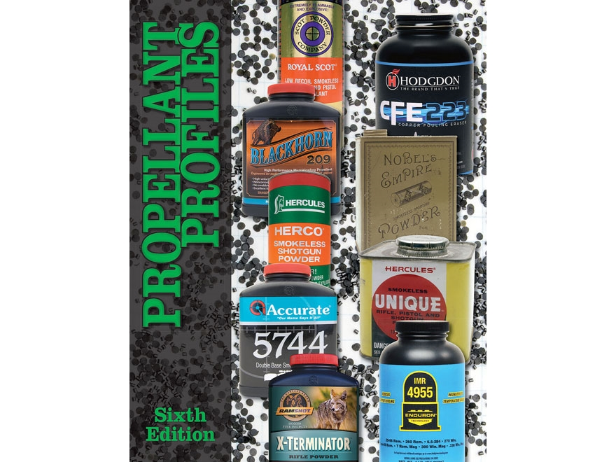 """""""Propellant Profiles - Sixth Edition"""" Book by Wolfe Publishing"""