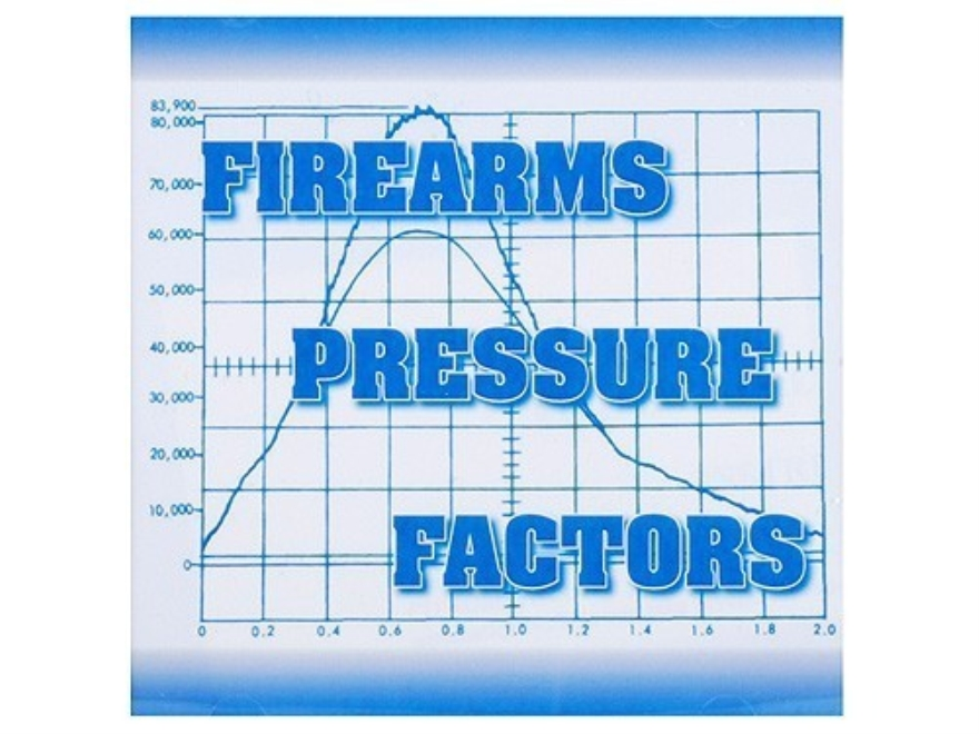 """Firearms Pressure Factors"" CD-ROM"