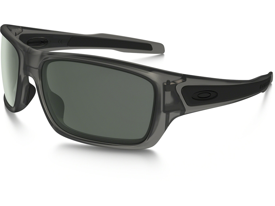Oakley Turbine Sunglasses Matte Grey Ink Frame/Dark Grey