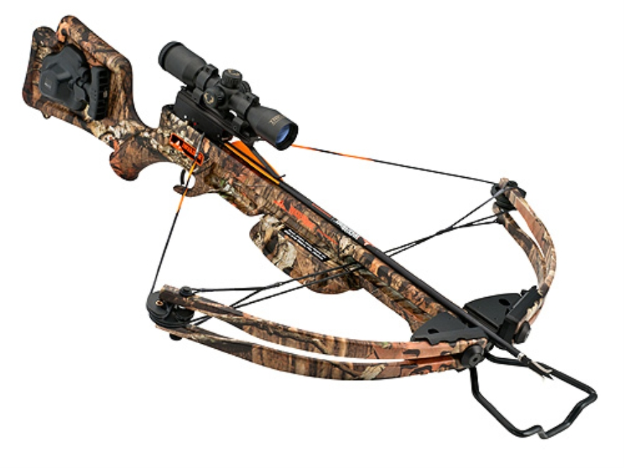 Wicked Ridge by TenPoint Invader HP Crossbow Package with 3x Multi-Line Scope and ACUdr...