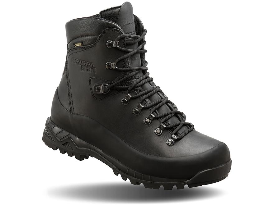 "Crispi Nevada Black GTX 8"" Waterproof GORE-TEX 200 Gram Insulated Tactical Boots Leathe..."