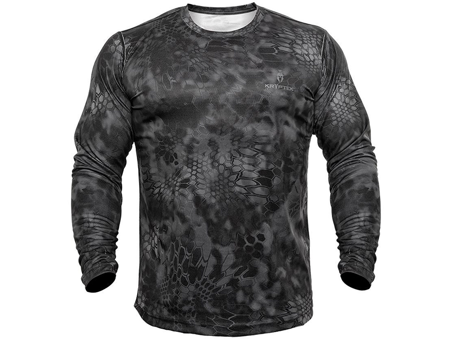 Kryptek Men's Hyperion T-Shirt Long Sleeve Polyester