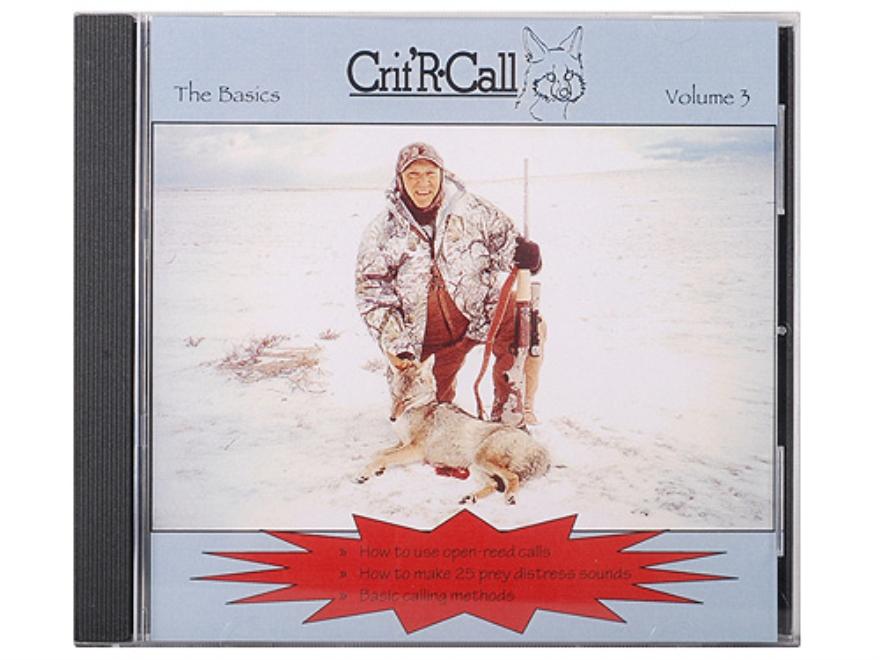 "Crit'R Call ""Volume 3: The Basics"" Predator Calling Audio CD"