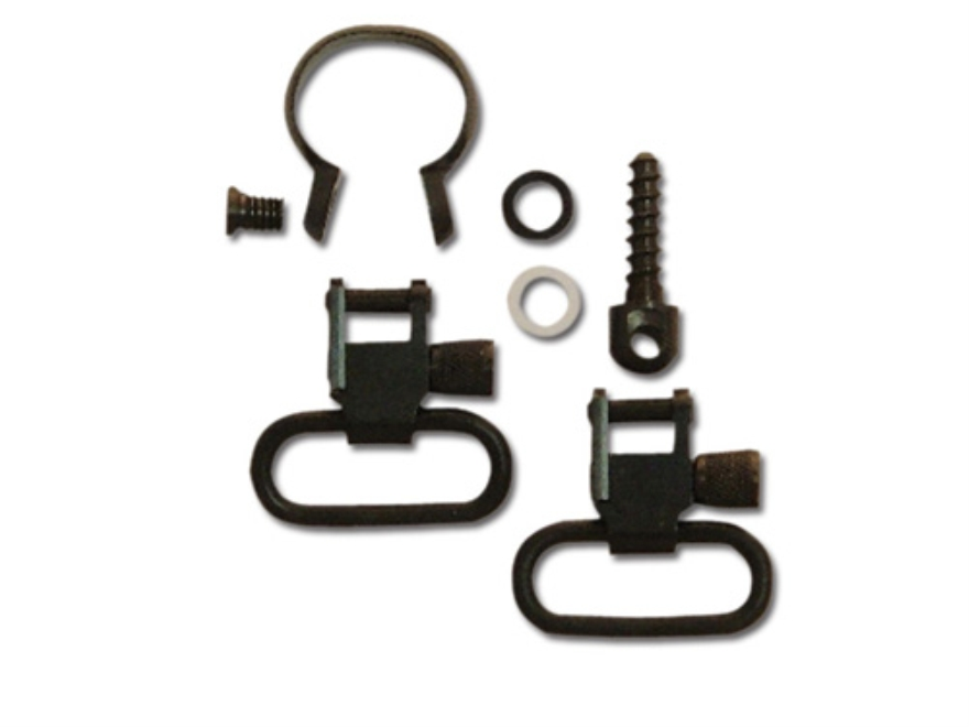"GrovTec Sling Swivel Studs with 1"" Locking Swivels and Barrel Band Set Remington 760 an..."