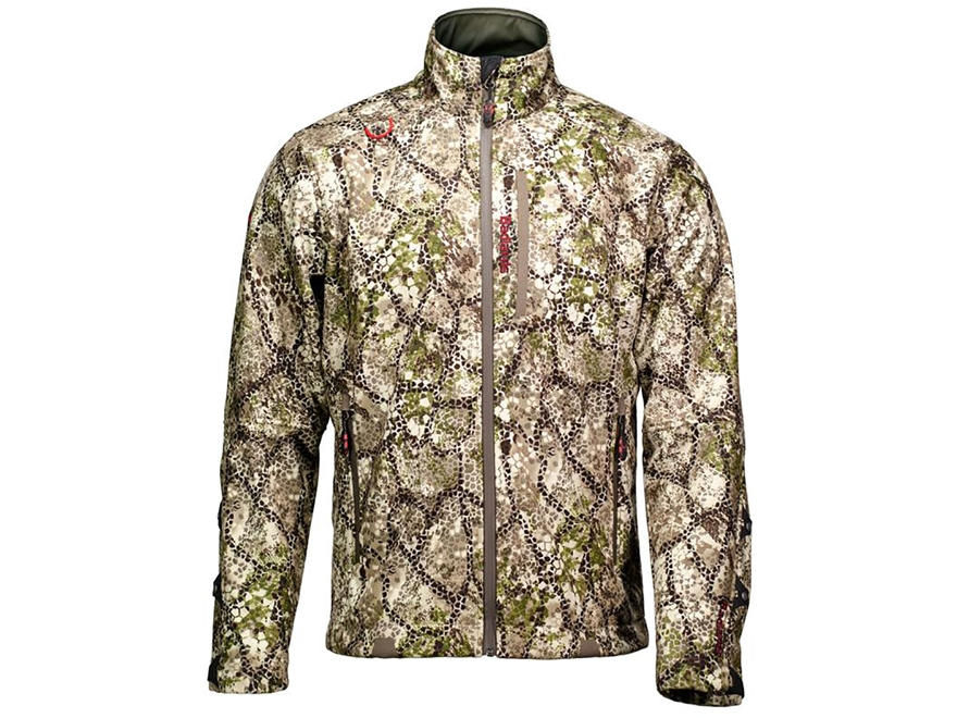 Badlands Men's Hybrid Soft Shell Insulated Jacket Polyester Approach Camo