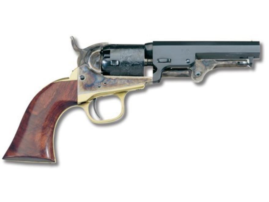"Uberti 1849 Pocket Black Powder Revolver 31 Caliber 4"" Barrel Steel Frame Blue"