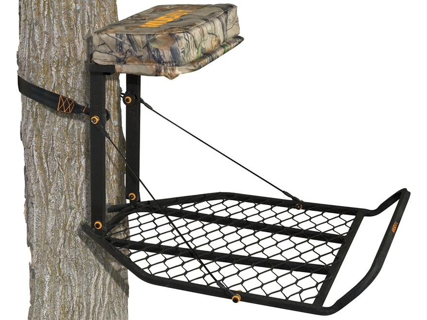 Muddy Outdoors Boss XL Hang On Treestand Steel Black