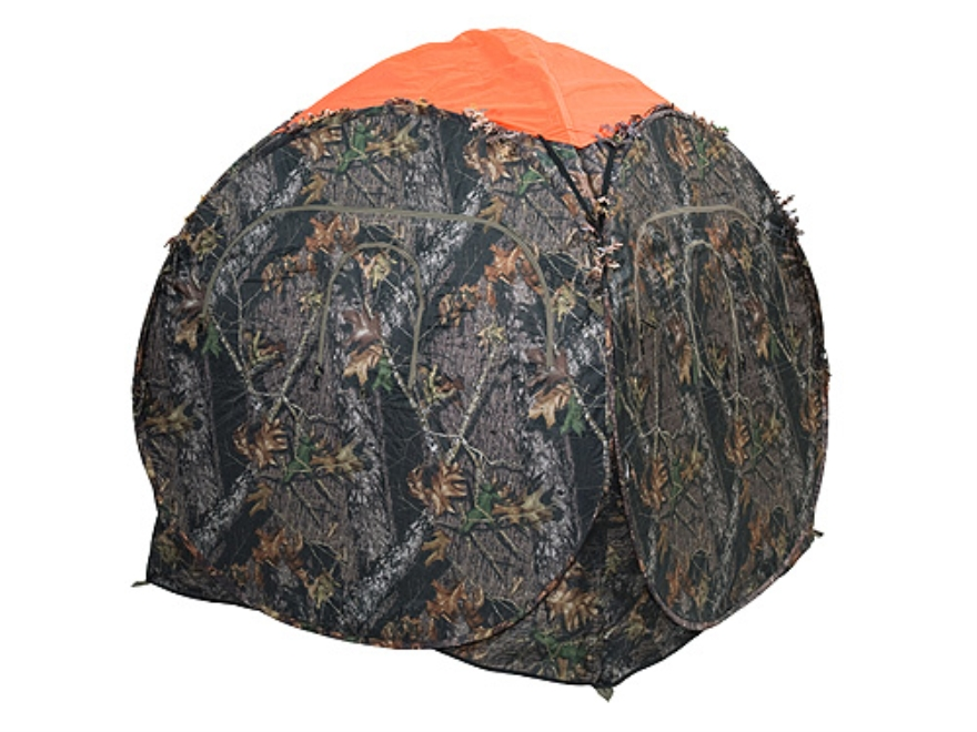 Ameristep Safety Ground Blind Cap fits Outhouse/Doghouse Blinds Polyester Blaze Orange