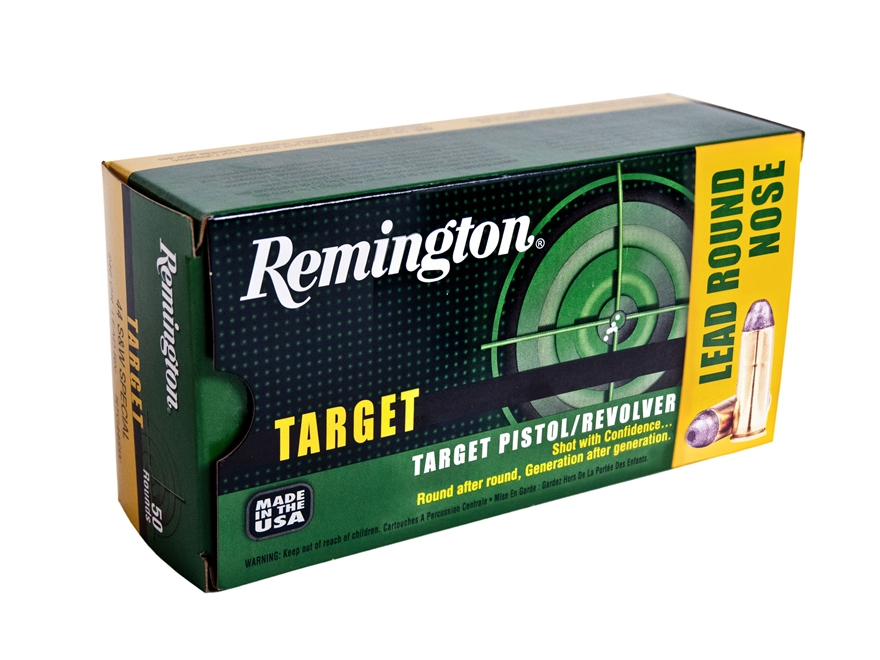 Remington Target Ammunition 44 Special 246 Grain Lead Round Nose Box of 50