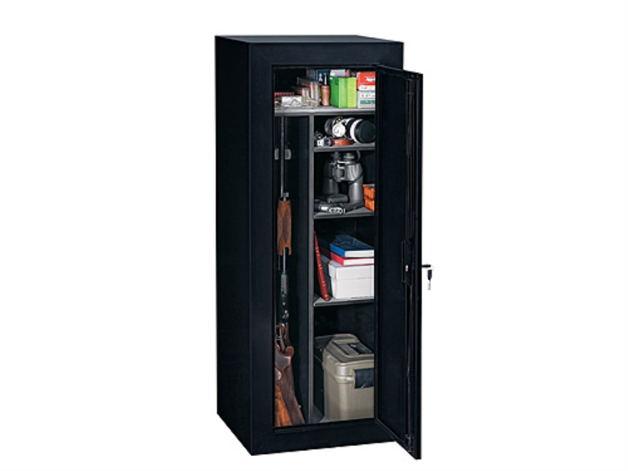 Stack On 18 Gun Convertible Security Cabinet Black