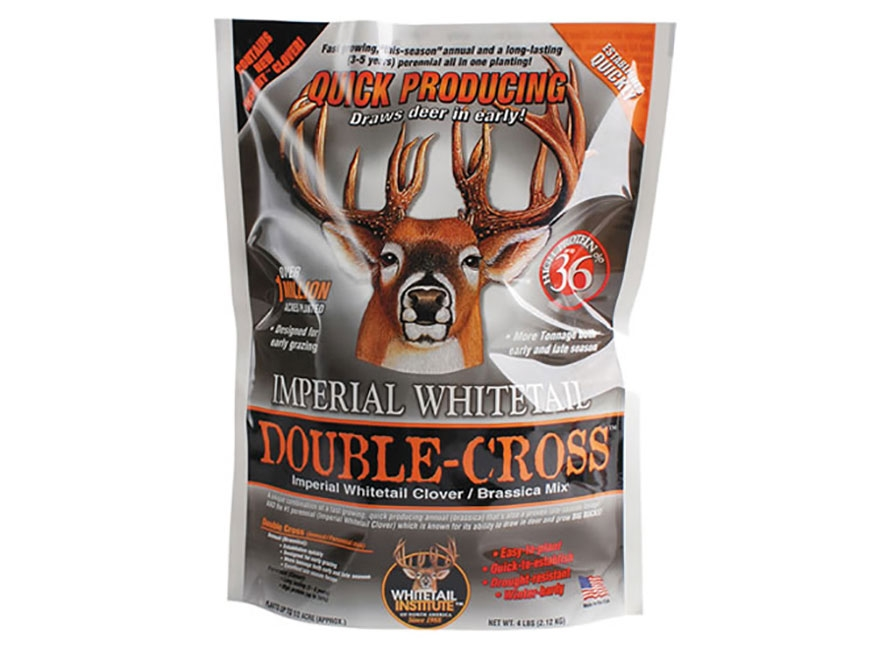 Whitetail Institute Imperial Double-Cross Food Plot Seed