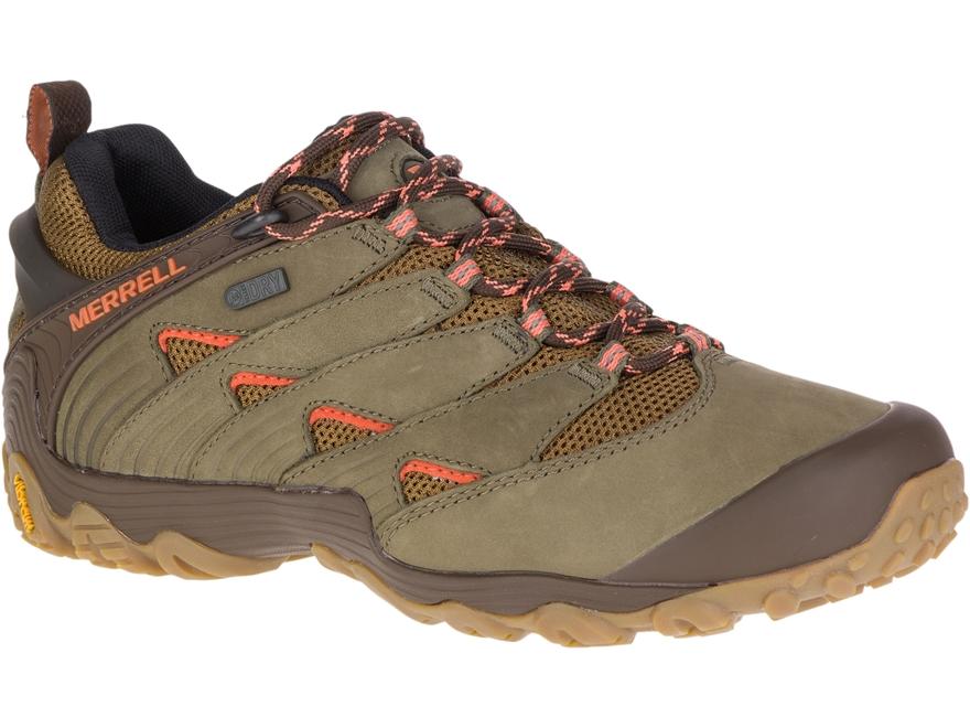 "Merrell Chameleon 7 4"" Waterproof Hiking Shoes Leather/Nylon Women's"