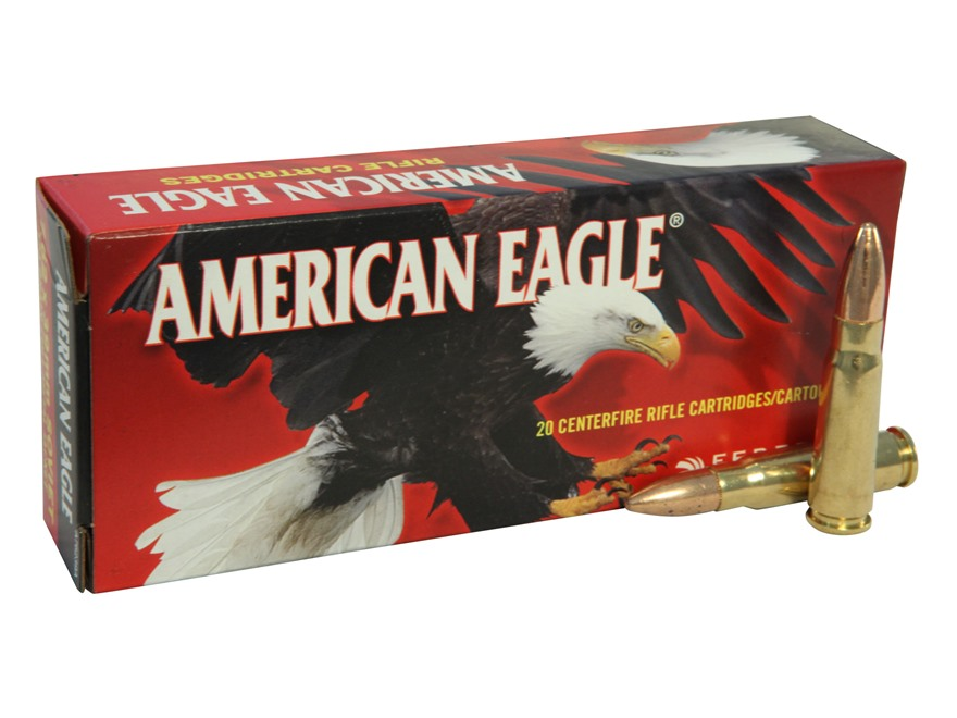 Federal American Eagle Ammunition 7.62x39mm 124 Grain Full Metal Jacket