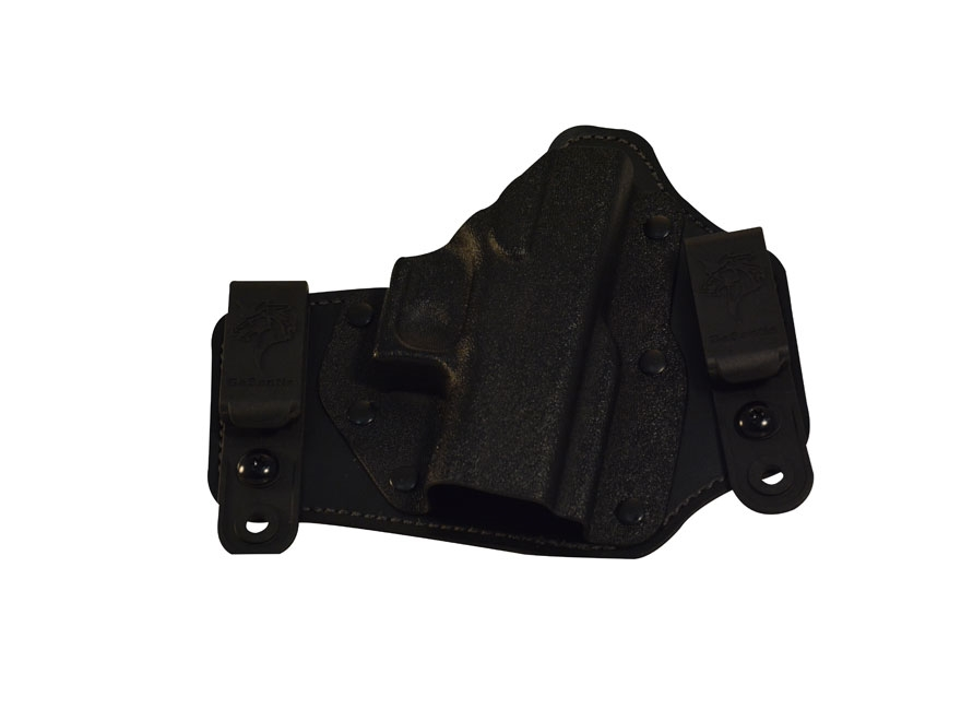 DeSantis Intruder Inside the Waistband Holster Glock 43 Kydex and Leather Black
