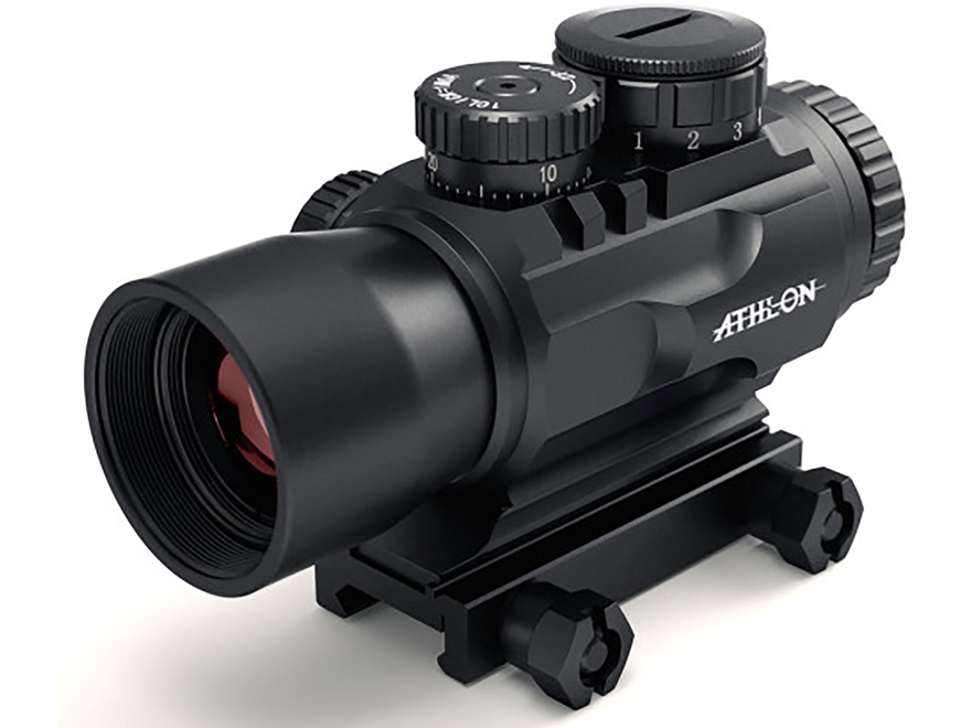 Athlon Optics Midas BTR PR31 Prism Sight 3x 32mm APSR31 Reticle with Picatinny-Style Mo...