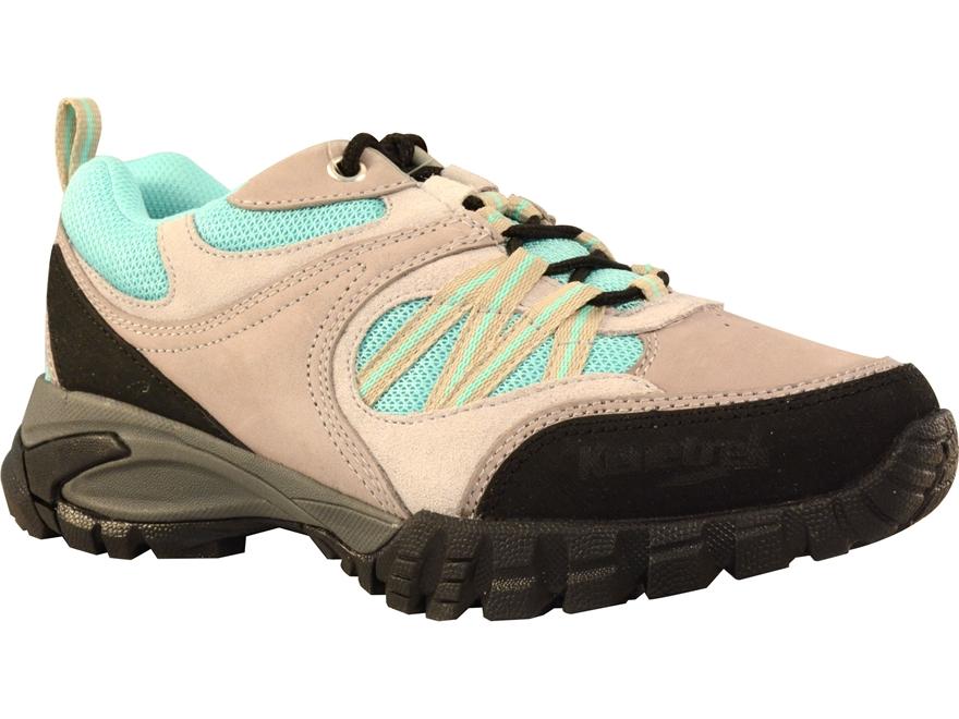 "Kenetrek Bridger Ridge Low 4"" Hiking Boots Leather and Nylon Aqua Women's"