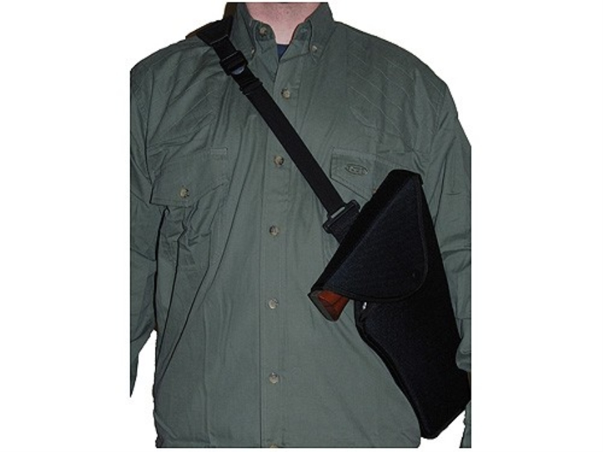 Uncle Mike's Sidekick Bandolier Scoped Pistol Holster Right Hand Medium and Large Doubl...