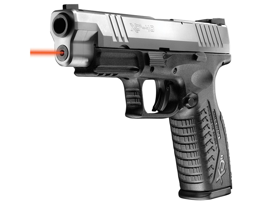 "LaserMax Laser Sight Springfield XDM 4.5"" 9mm Luger and 40 S&W"