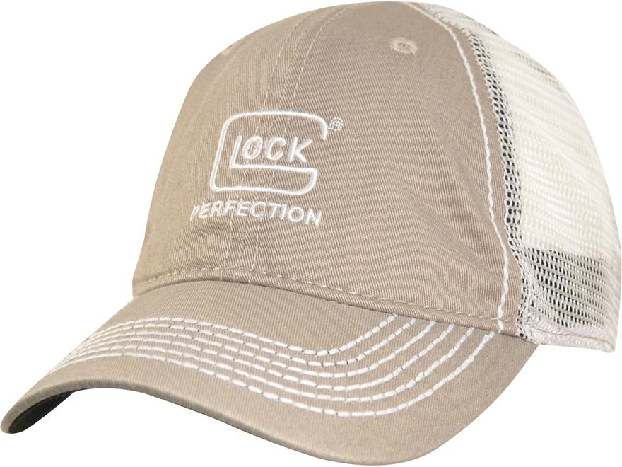Glock Perfection Mesh Logo Cap Polyester Light Grey