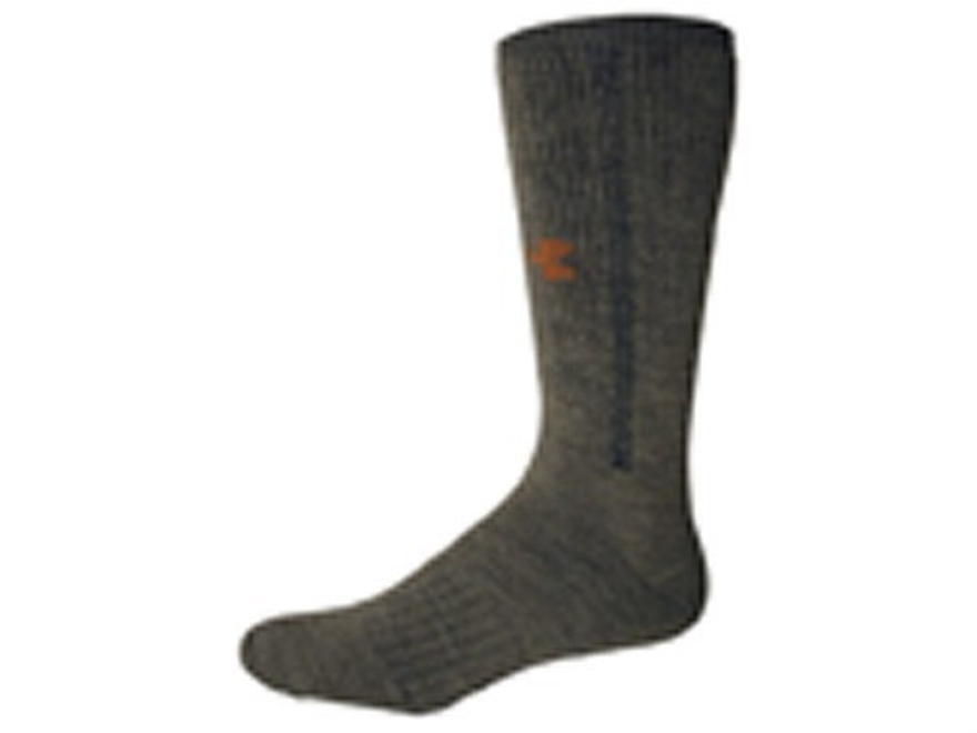 Under Armour Men's ColdGear Hunter Full Cushion Boot Socks Synthetic Wool Blend 1 Pair