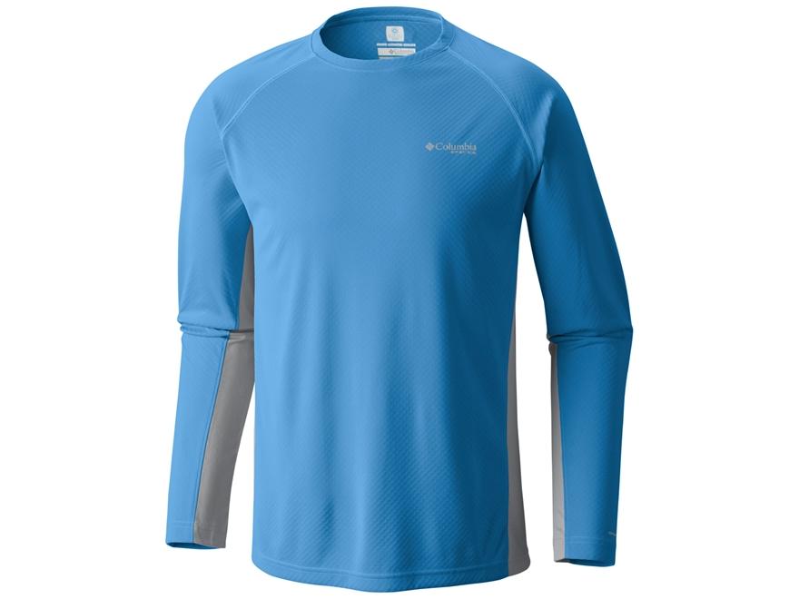 Columbia Men's PFG Cast Away T-Shirt Long Sleeve Polyester