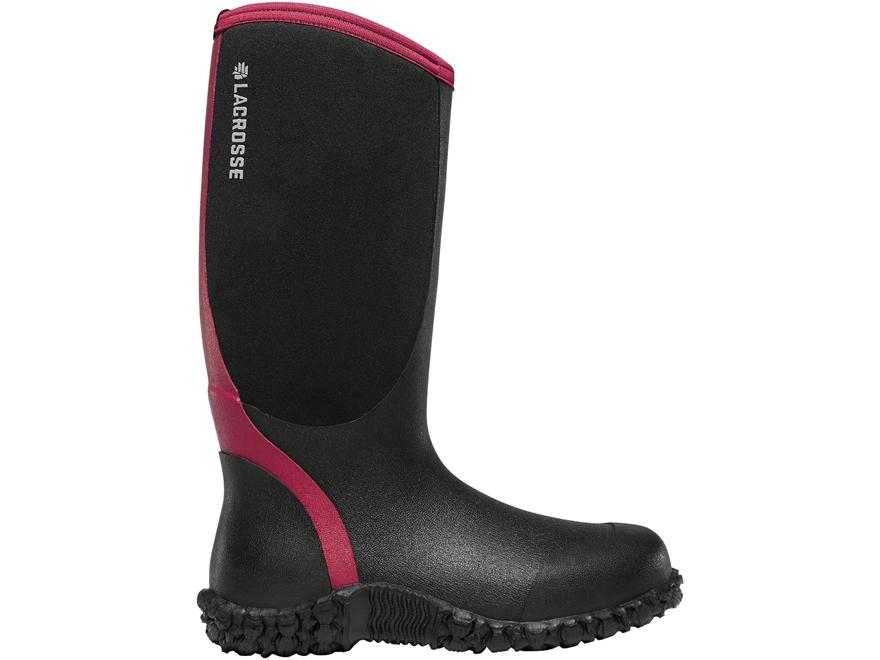 """LaCrosse Alpha Lite 14"""" Waterproof 5mm Hunting Boots Neoprene/Rubber Women's"""