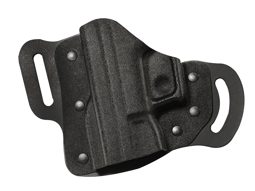 DeSantis Intimidator 2.0 Belt Holster Glock 17, 19, 22, 23 Kydex and Leather Black
