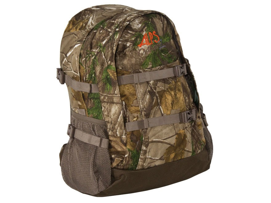 ALPS Outdoorz Crossbuck Backpack Polyester Mossy Oak Break-Up Infinity Camo