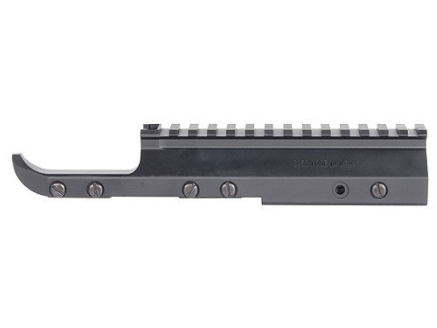 DSA Stripper Clip Scope Mount FN FAL Folding Stock Aluminum Matte