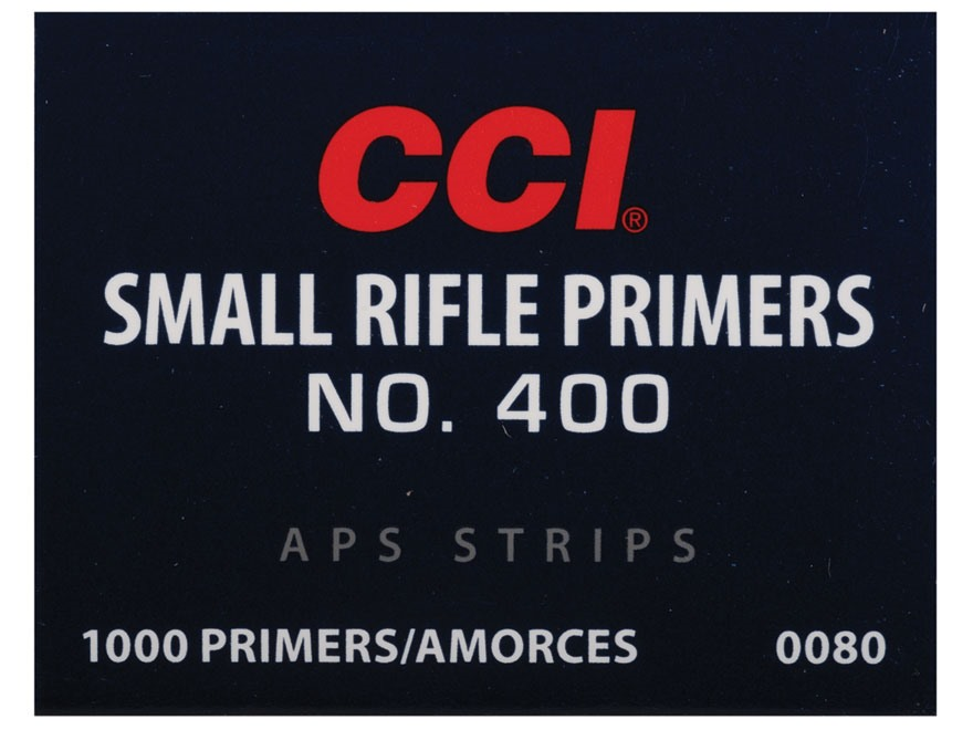 CCI Small Rifle APS Primers Strip #400