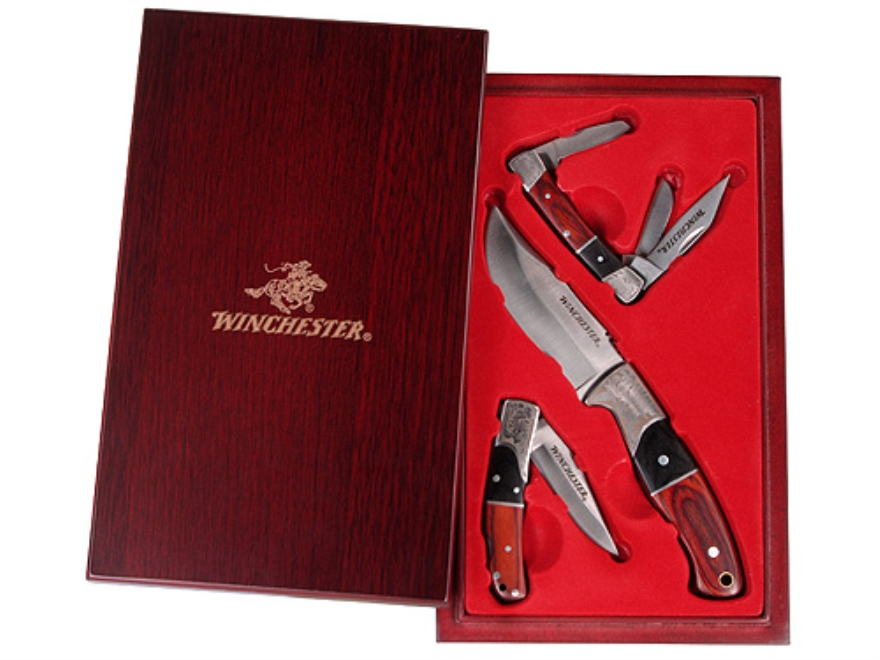 Winchester 3 Piece Pakka Cherry Knife Set Mpn 31 000149