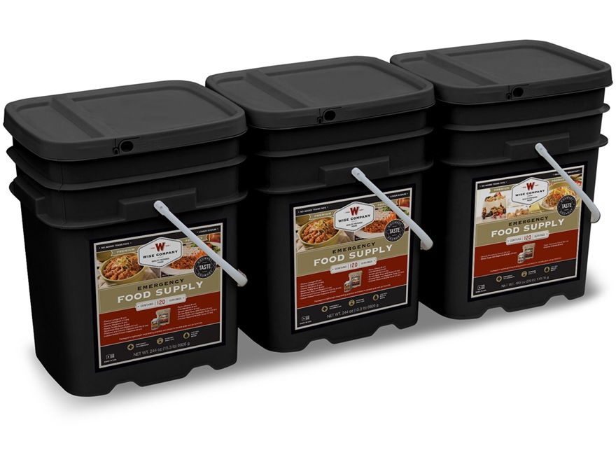 Wise Company 360 Serving Vegetarian Entree and Breakfast Freeze Dried Food Kit