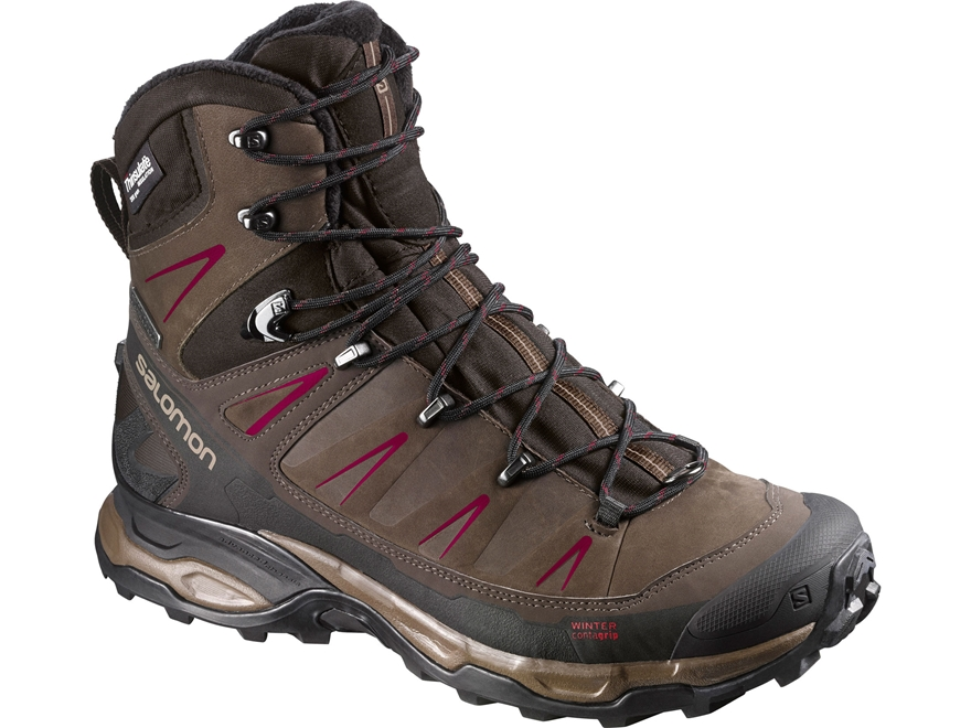 "Salomon X Ultra Winter CS 8"" Waterproof 200 Gram Insulated Hiking Boots Synthetic and L..."